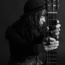 Beth and guitar - thanks to Phillip Werner photography for this photo
