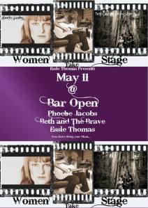Women Take Stage poster